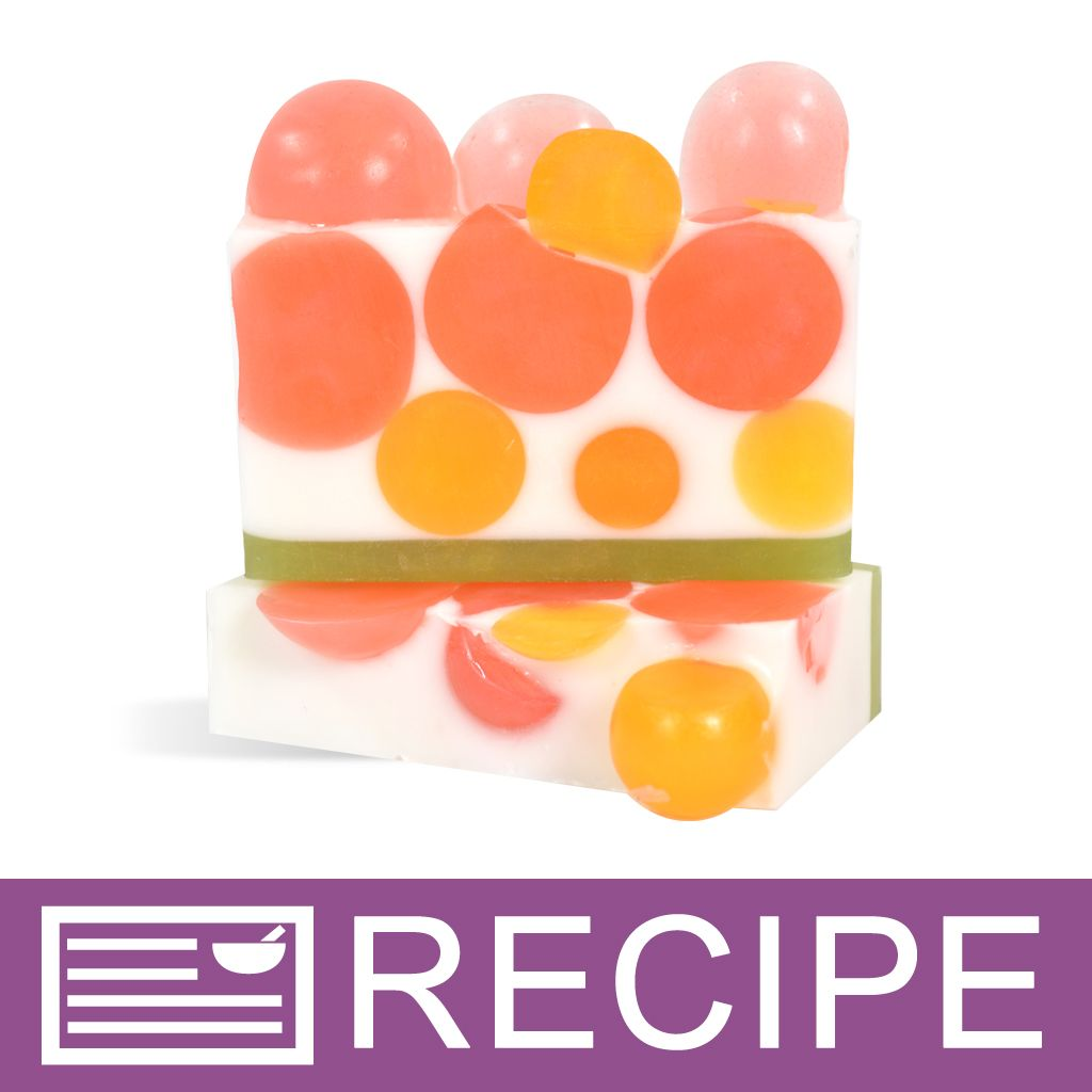 Peach Grapefruit and Thyme MP Loaf Soap Recipe | Soap | Soap