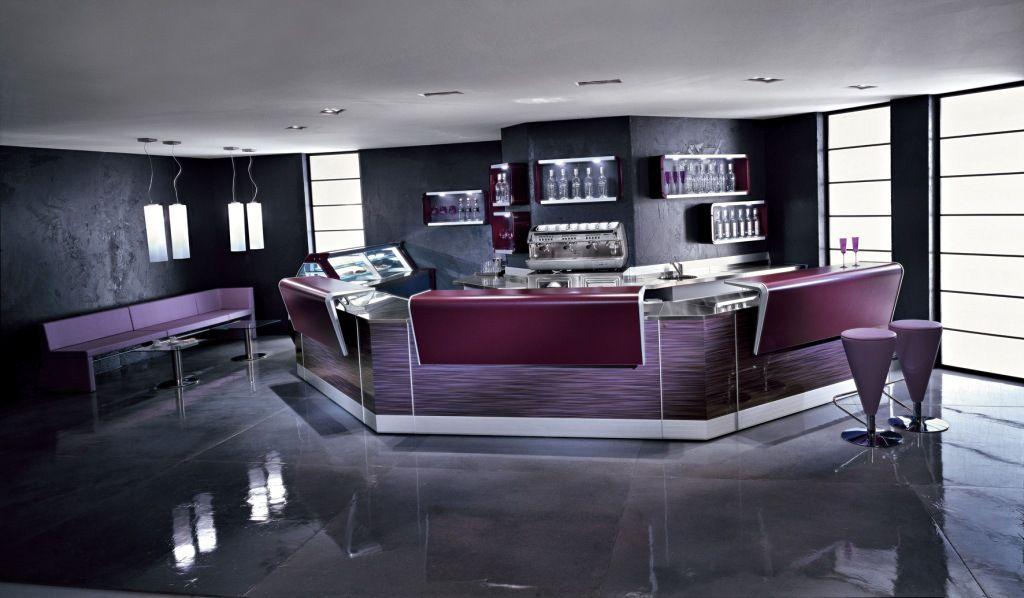 Fabuleux Il Bancone bar Beverly interpreta in chiave moderna il design dei  QV99
