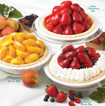 Marie Callender S Fresh Fruit Pies Strawberry Peach Summer Berry