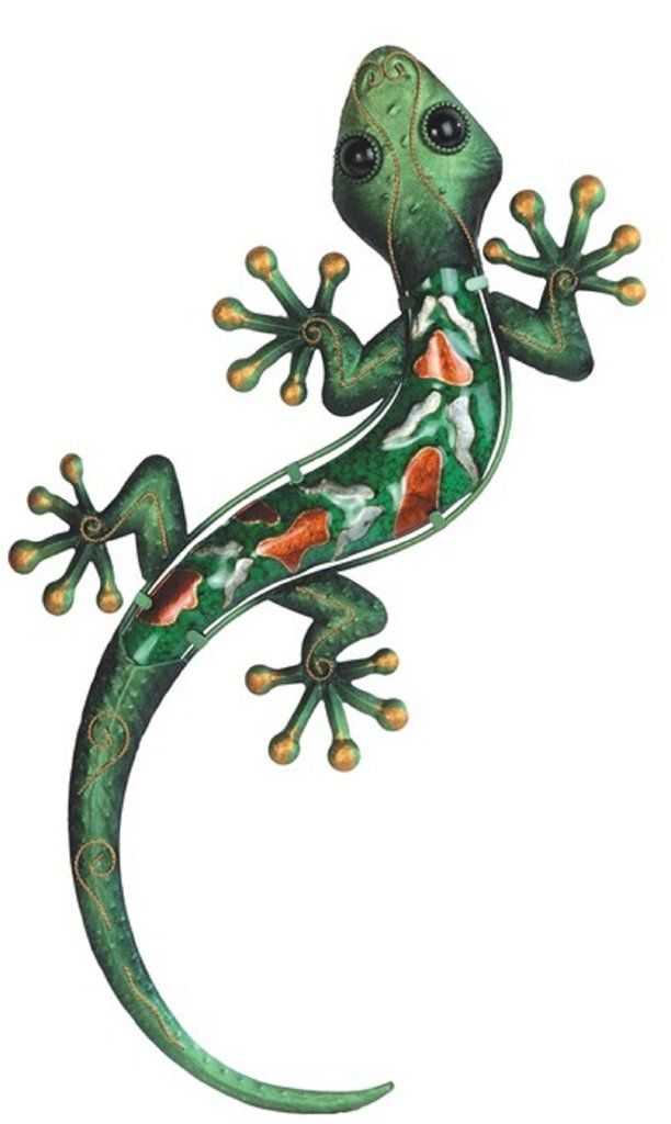 """Pin By Hdi 19 On Southwest House With Images: Green Lizard Geico Metal Wall Decor 19""""L"""