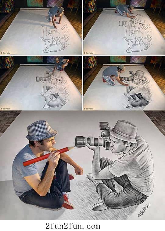 3D drawing | Art In§piration | Art, Drawings und Pencil art