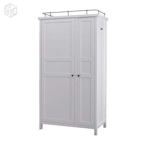 armoire hemnes ikea blanche ameublement paris project studio pinterest. Black Bedroom Furniture Sets. Home Design Ideas