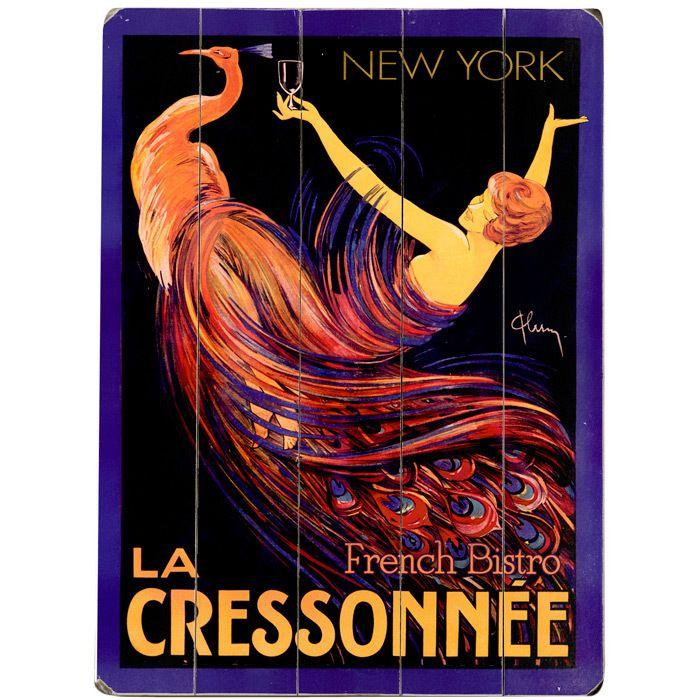 La Cressonnee French Bistro Wall Art | Art | Pinterest | French ...