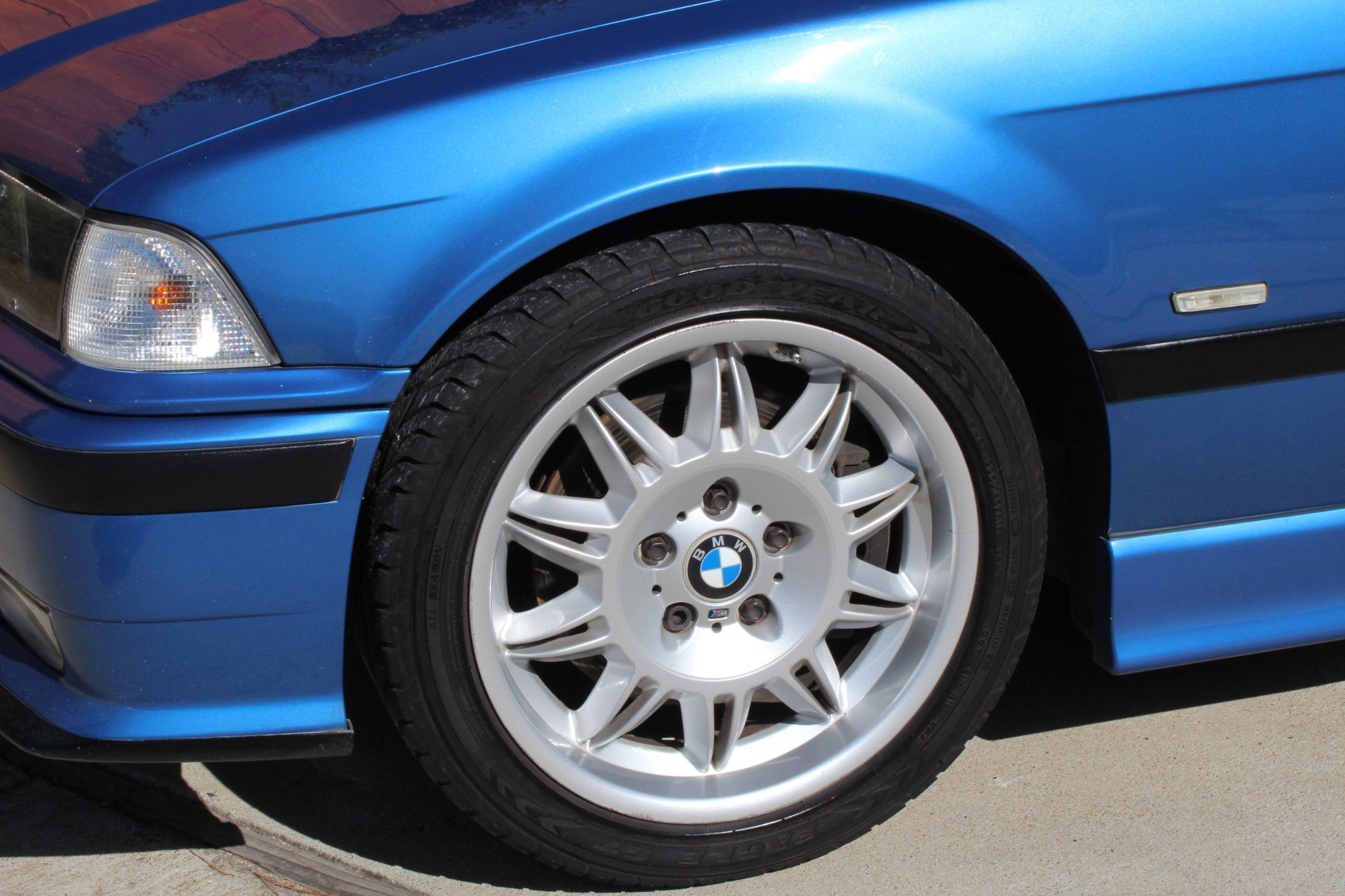This 1997 BMW M3 is a clean Estoril Blue example that has been maintained as a daily driver. The seller purchased it 2009 with 100k miles on the odometer, and has logged another 100k behind the wheel in the last 6 years. It has been recently serviced and maintenance under the seller's ownership