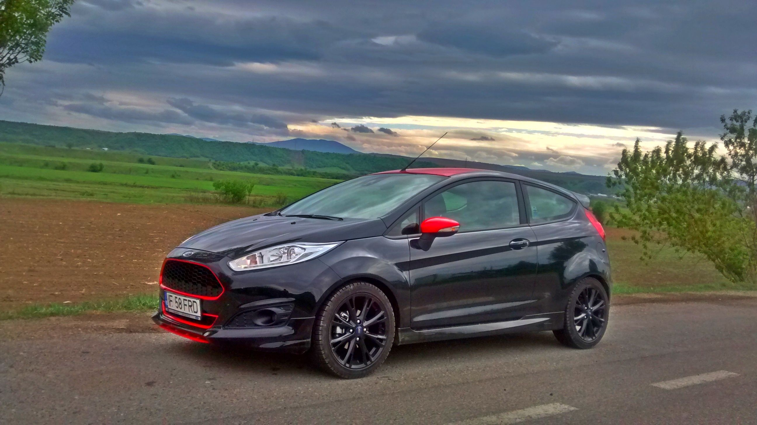 Molten orange usdm 5 door ford fiesta st fordfiestast moltenorange fiestast ford fiesta st pinterest ford and cars