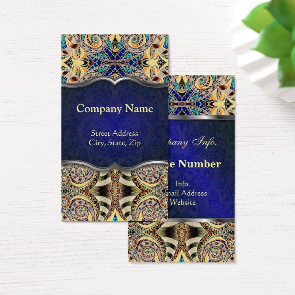Sold Business Card Floral Abstract Background Https Www Zazzle Com