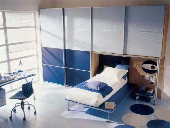 Bedroom for him Blue Pinterest Bedrooms