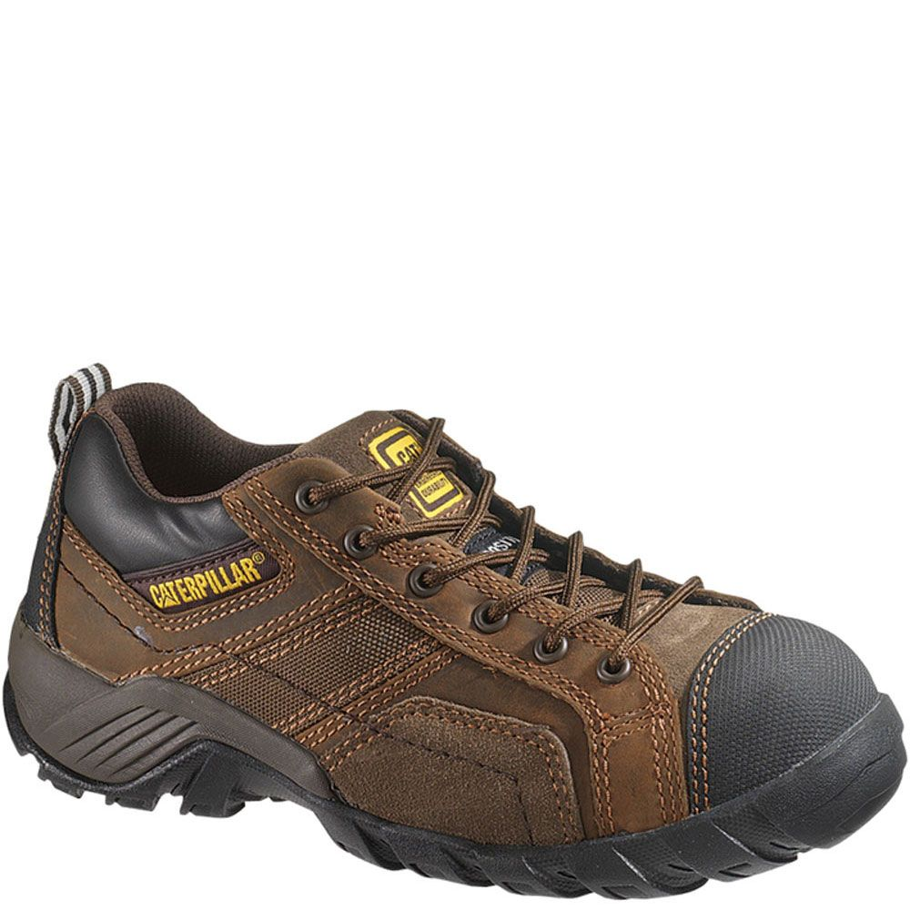 90087 Caterpillar Women S Argon Ct Safety Shoes Brown