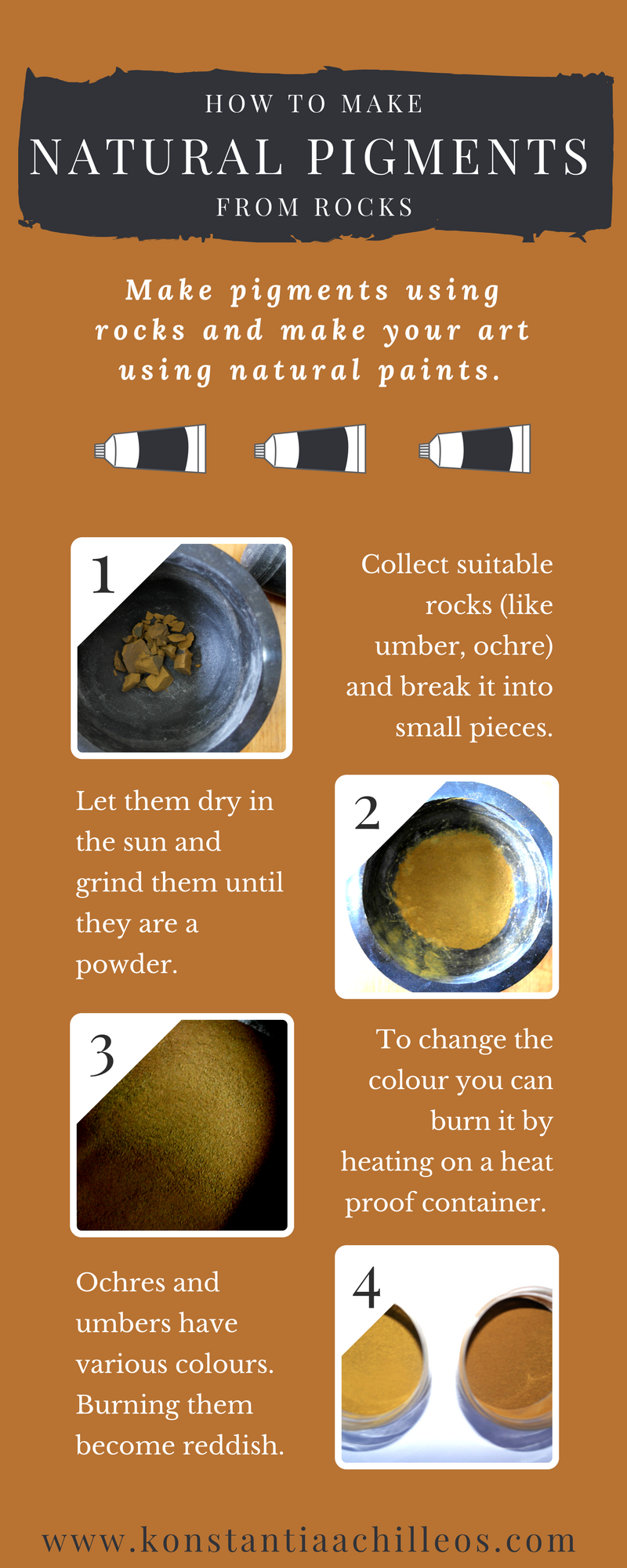 Natural Pigments Are Rocks That You Can Turn Them Into Paints