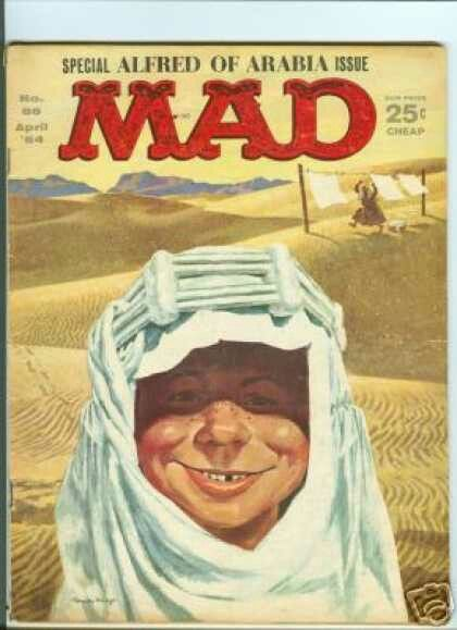 MAD Issue #86 April, 1964