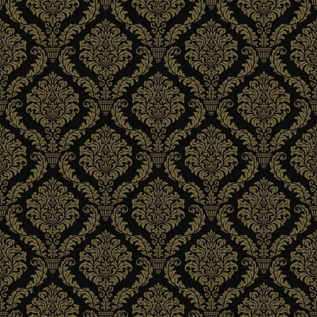Seamless Luxury Ornamental Background Gold Damask Seamless Floral Pattern Abstract Antique Background Png And Vector With Transparent Background For Free Dow Floral Pattern Vector Background Patterns Graphic Design Background Templates