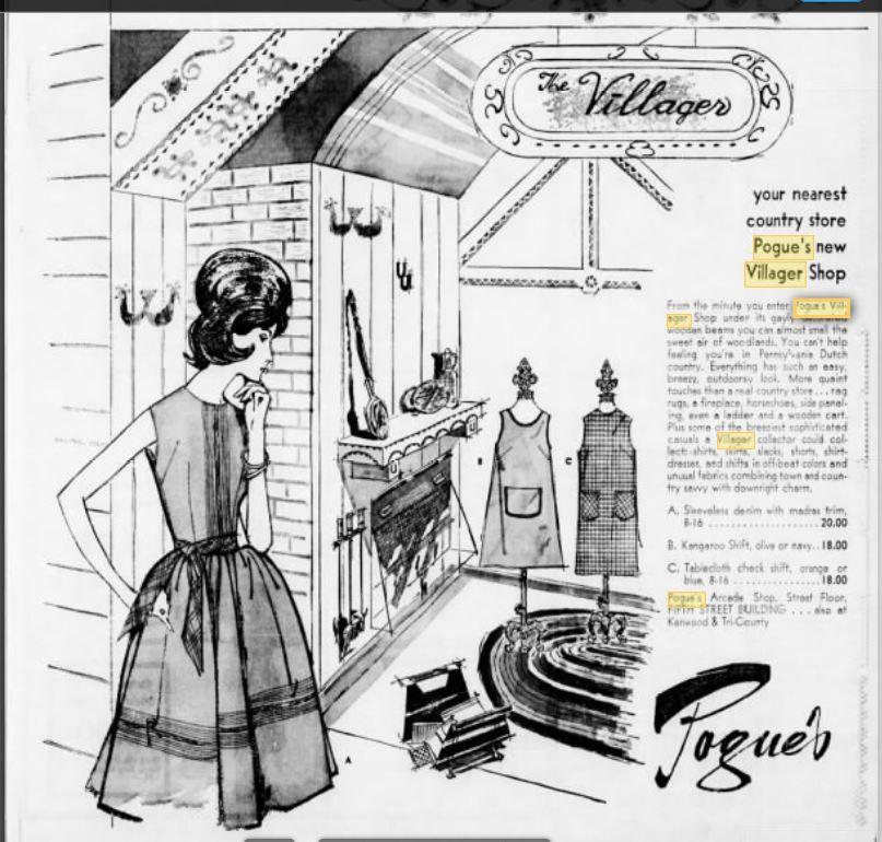 Pin By Linda Kreindler On Cincinnati Vintage Fashion Illustration Fashion Illustration Vintage Vintage Outfits Vintage Store