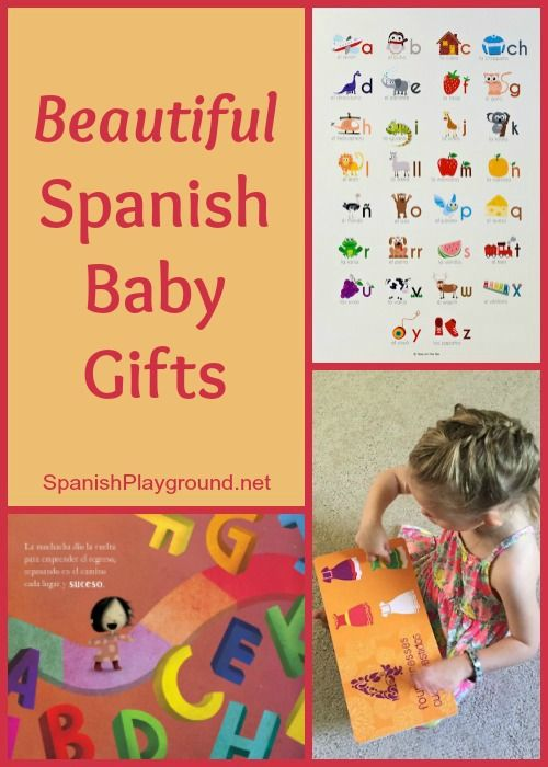 Spanish baby gifts 6 beautiful language presents spanish spanish baby gifts such as music and books encourage language development and teach culture negle Images