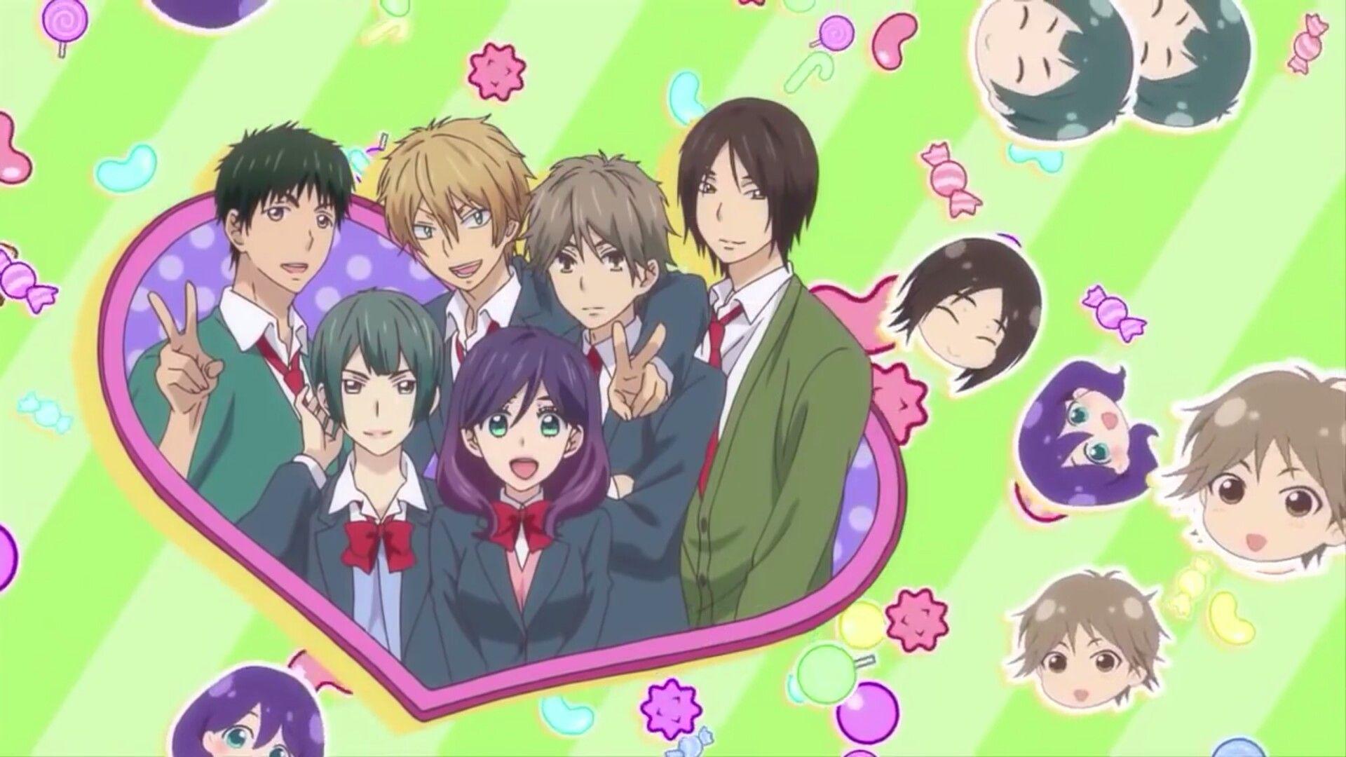 Kiss Him, Not Me Anime chibi