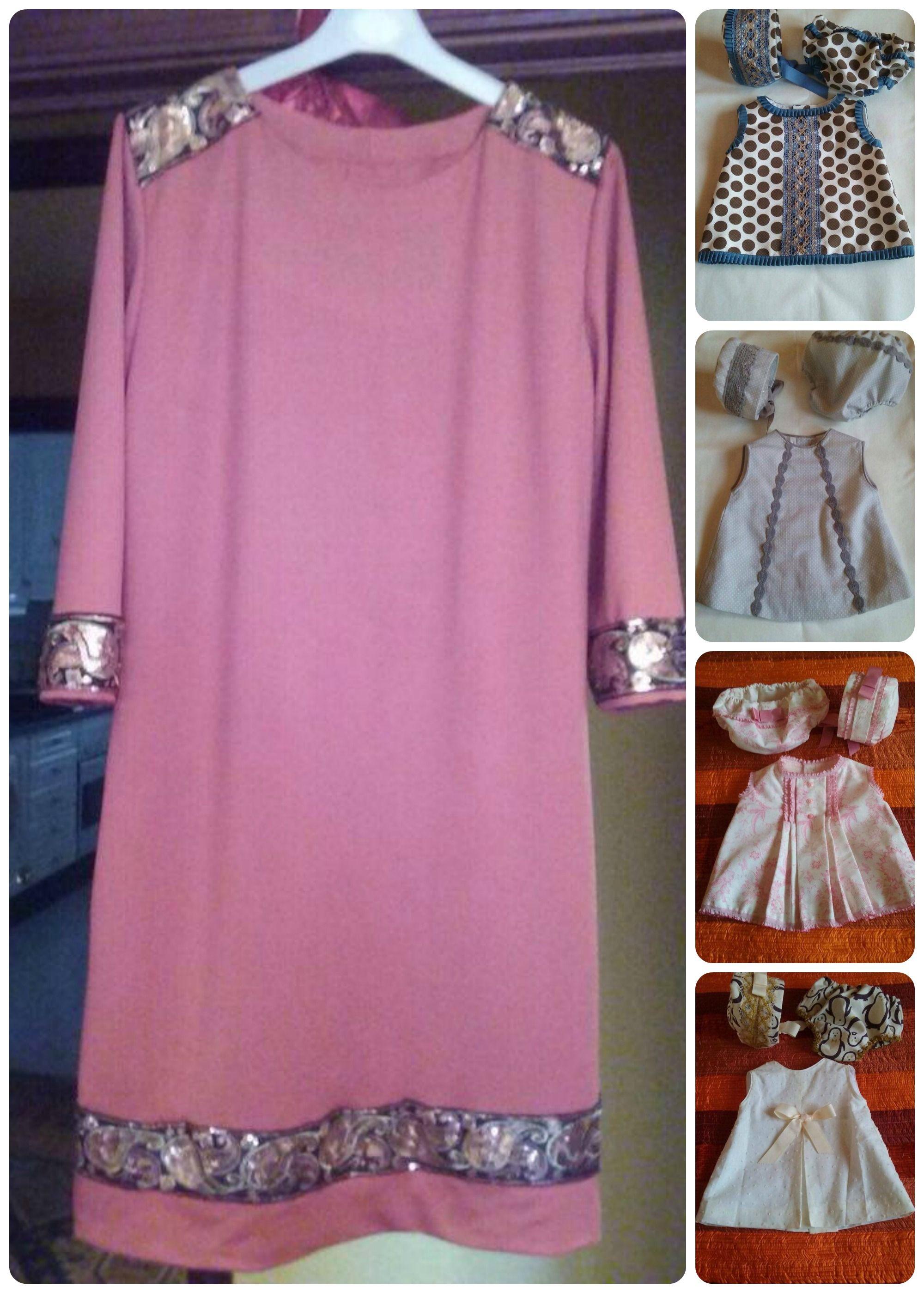 Carmen Martínez nos envía sus preciosas creaciones con nuestros tejidos #costuraalpoder #clientes #diy #hazlotumismo