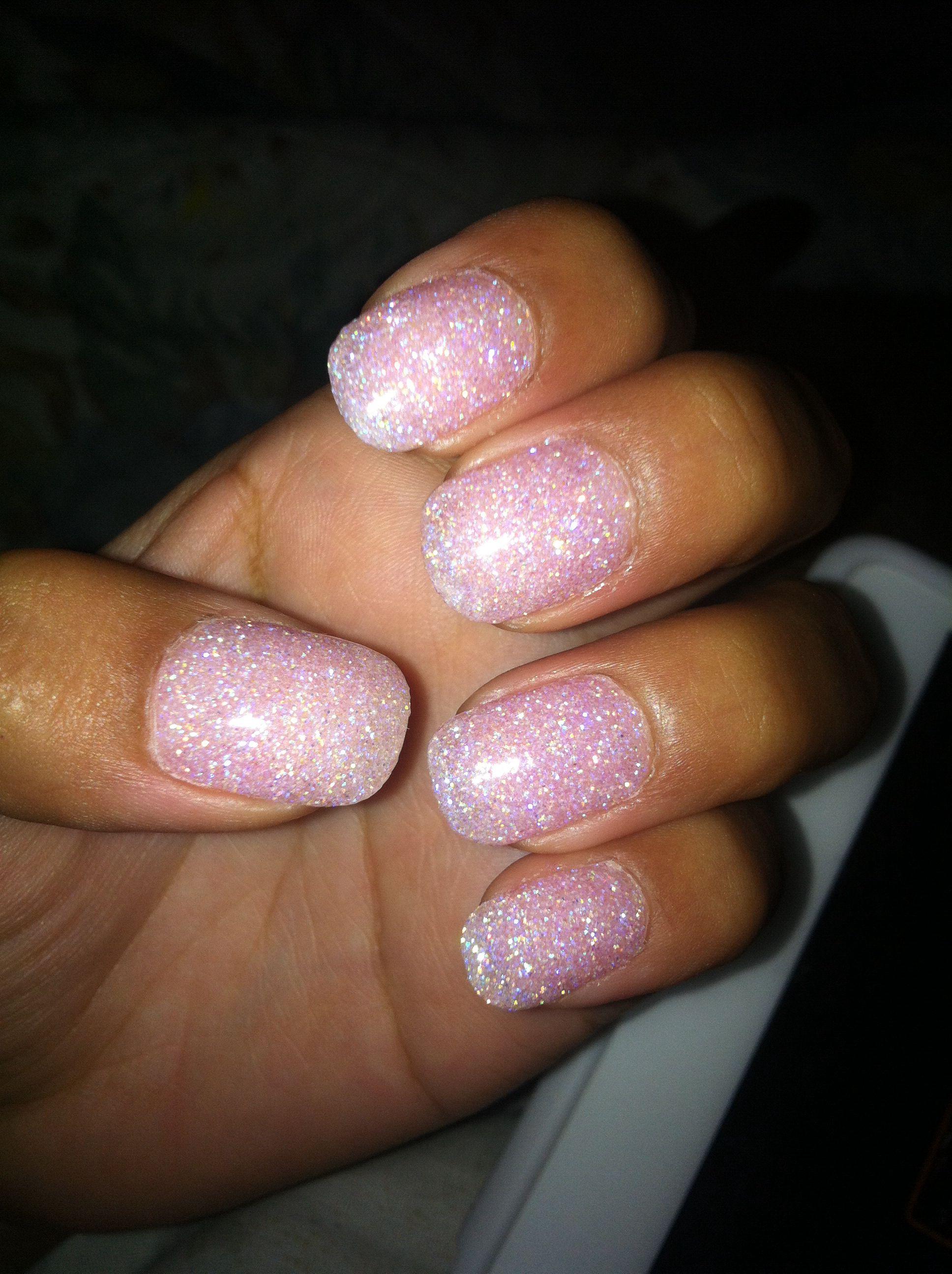Powdered Gel Nails Design Vj Nails In Calgary Alberta: SNS Powder!! Very Beautiful Outcome, Love Them!