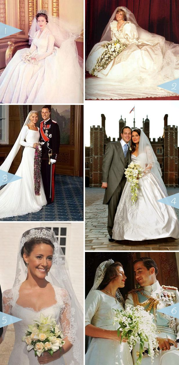 Royal Brides: Bouquets Over Time | WeddingWire: The Blog