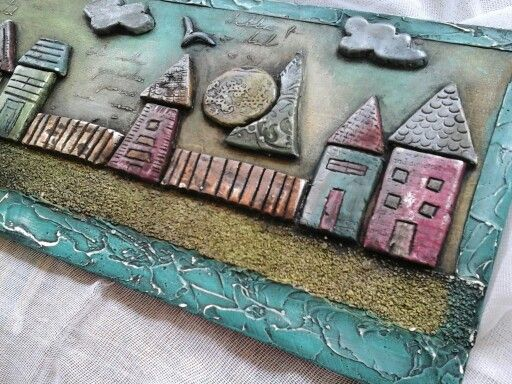 Houses of dry clay