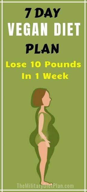 7-tägiger vegetarischer Mahlzeitplan, zum von 10 Pfund in 1 Woche zu verlieren. Die vegane 7-Tage-Diätpla …   – FOOD