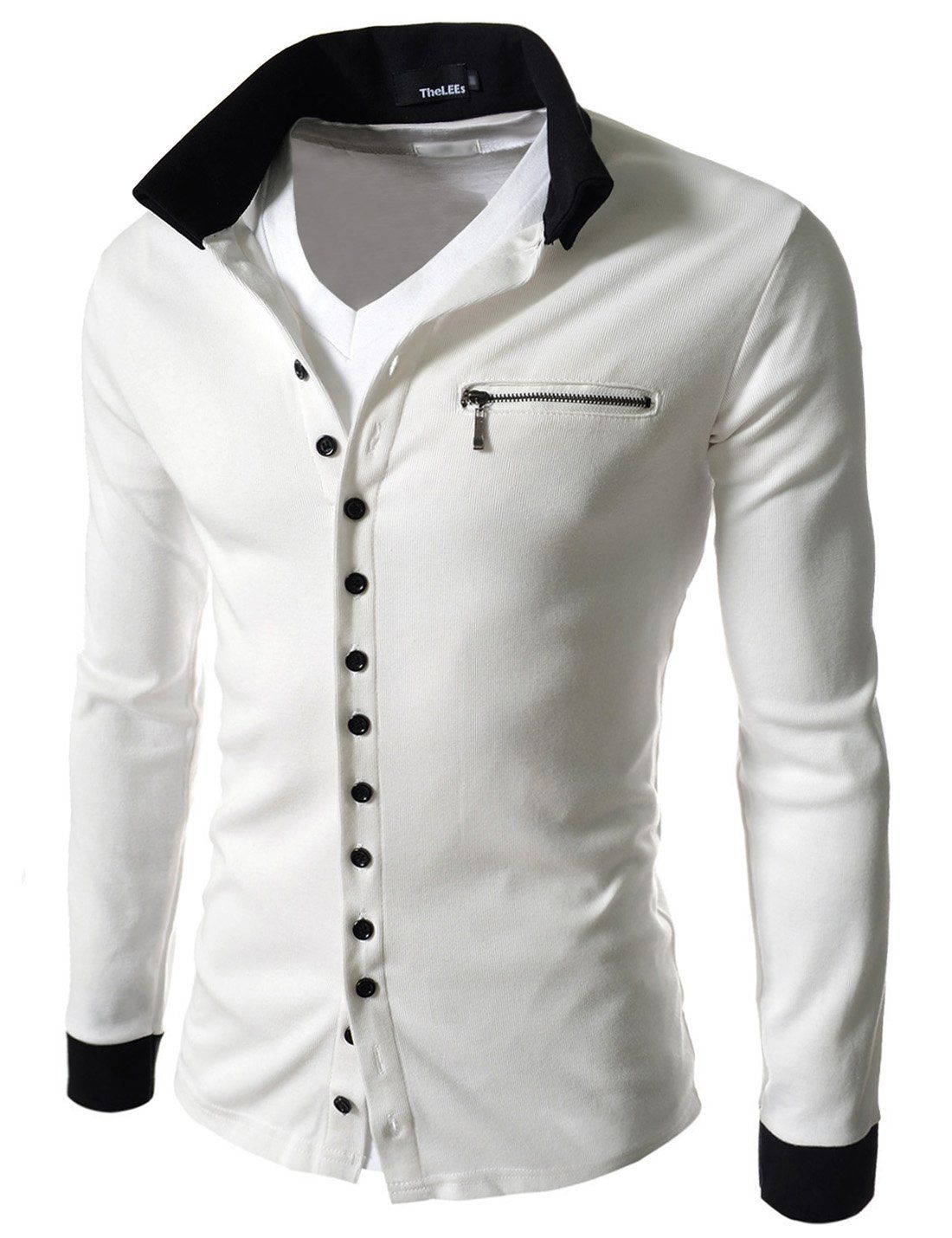 The Lees Mens Casual Slim Fit 2 Tone Button Cardigan at Amazon Men's Clothing store: The Lees Clothing. Size Medium (US Small). http://www.amazon.com/gp/product/B0098V4O0E?ie=UTF8&camp=1789&creativeASIN=B0098V4O0E&linkCode=xm2&tag=i0d43-20