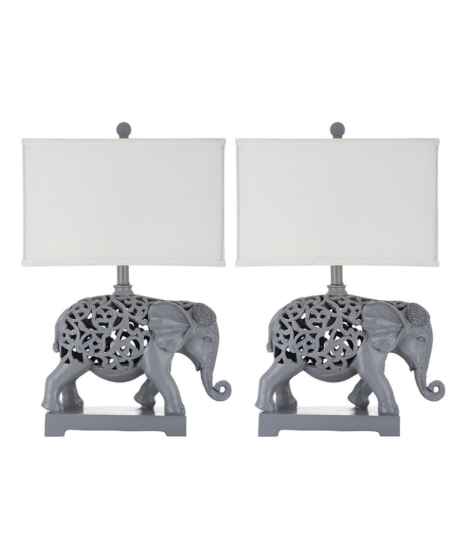 Look at this #zulilyfind! Boracay Table Lamp - Set of Two by Safavieh #zulilyfinds