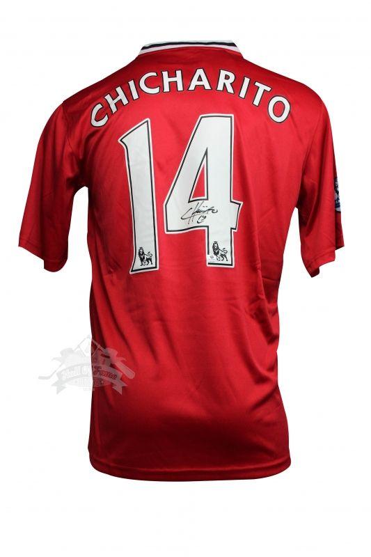 huge selection of 52b2d 598fc Javier chicharito hernandez   Soccer memorabilia ...