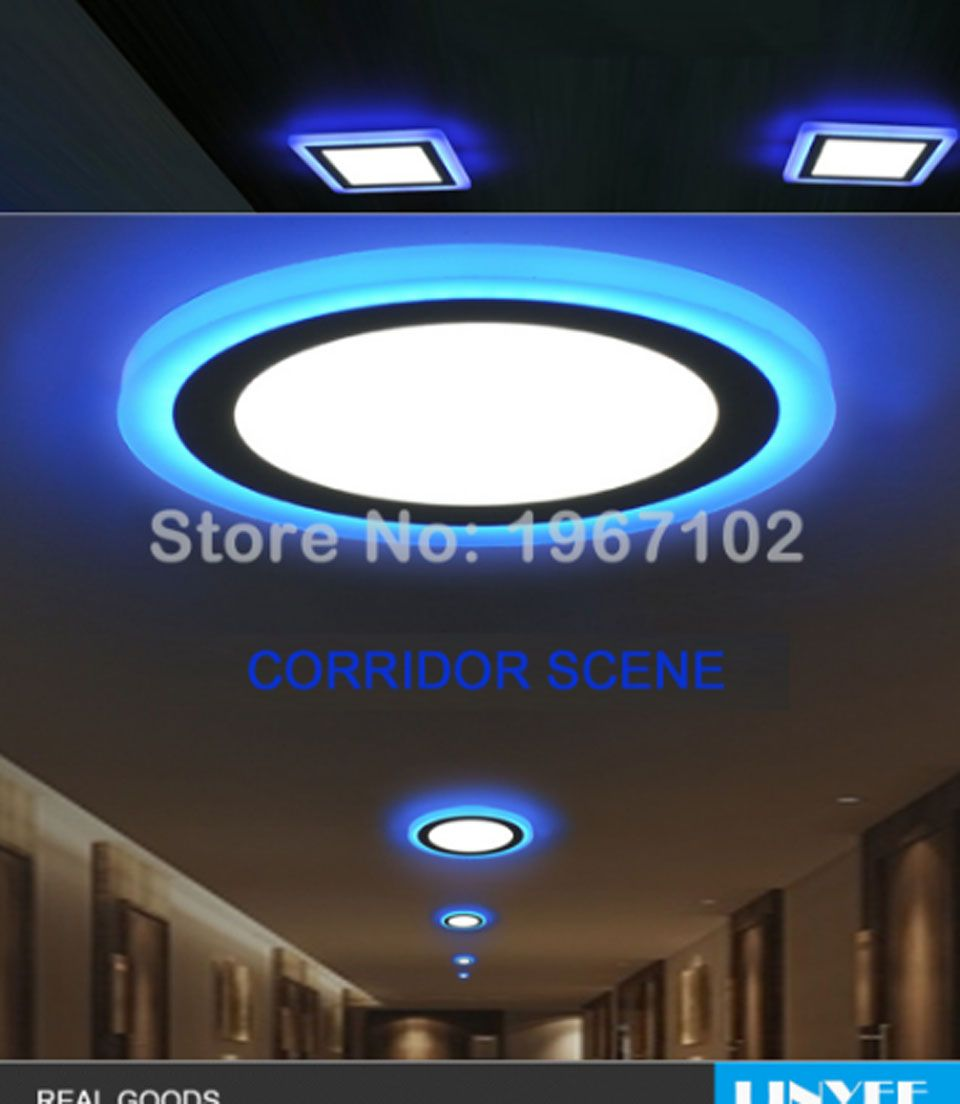 Led Licht Panel Decke New 6w 9w 16w 24w Led Ceiling Recessed Panel Light Lamp Home