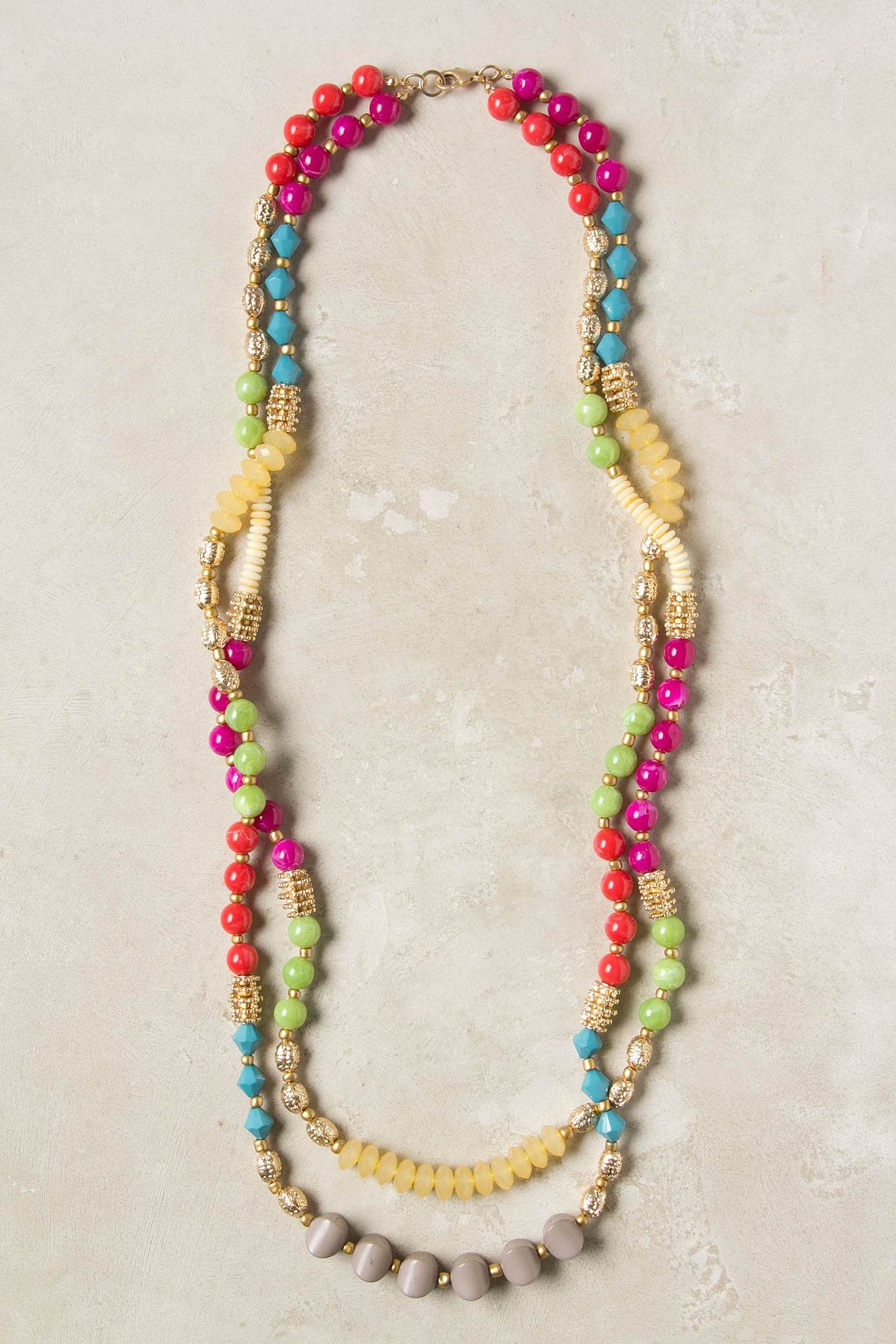 f6c7e5fe29c11f Mixed Spectra Necklace - Anthropologie.com | Crafty Schmafty ...