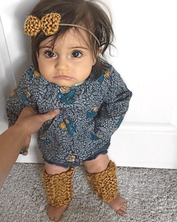 Baby leg warmers by bisouxbisouxkisskiss on Etsy