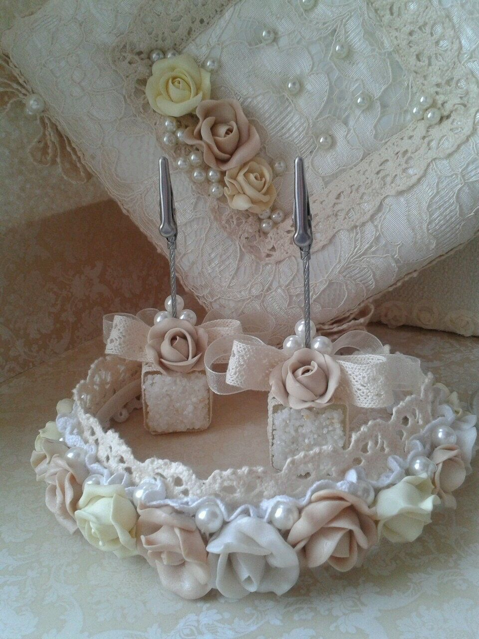 Wedding Place Card Holder Set of 2  from ALORNA Collection by AVRORAandALORNA on Etsy https://www.etsy.com/listing/227808907/wedding-place-card-holder-set-of-2-from