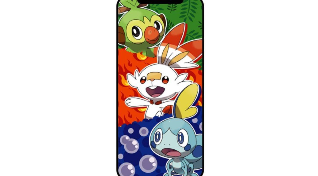 Pokemon Sword And Shield Wallpaper Phone Receive This Exclusive Wallpaper Via Line Beacon In 2020 Anime Wallpaper Phone Android Wallpaper Anime Anime Wallpaper Iphone