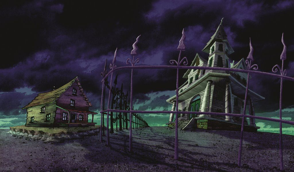 Image Result For Courage The Cowardly Dog Environment Cartoon