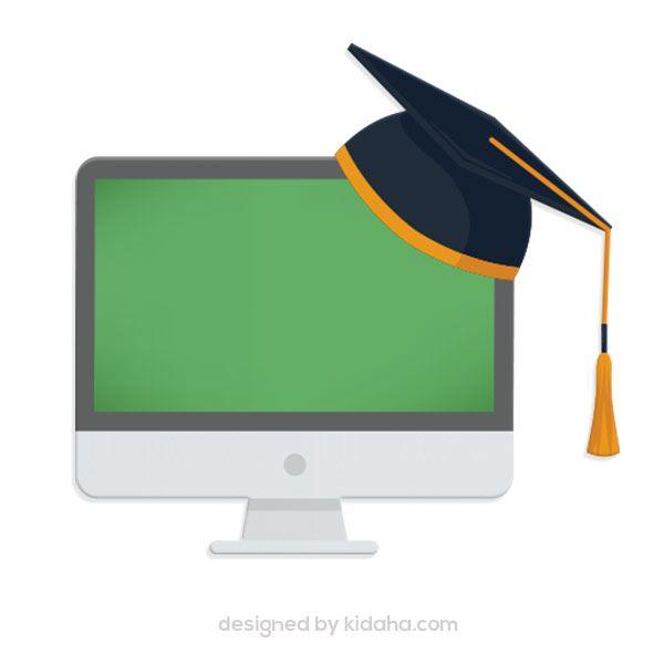 Free Computer And Graduation Cap Clip Arts Education Clip Arts For Kids Download Clip Arts Free Education Clip Arts F Education Clipart Kids Clipart Clip Art
