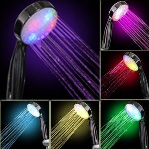 7 Color LED Shower Head Romantic Lights Water Home Bath » Cool Gadget Gifts for Her