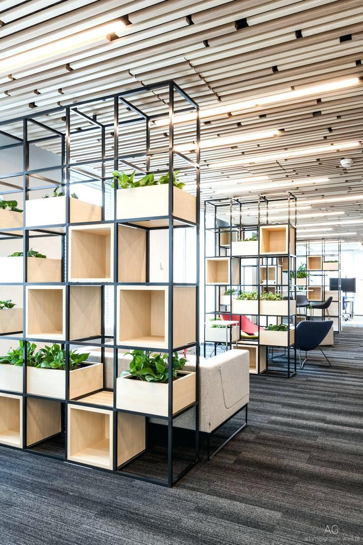 Office design space divisions inspiration for corporate for Interior design office space