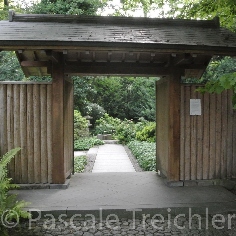 Hinter Diesem Tor Verbirgt Sich Der Japangarten Im Botanischergarten In Augsburg Das War Vor Ein Paar Ja Botanischer Garten Japanischer Garten Garten Design