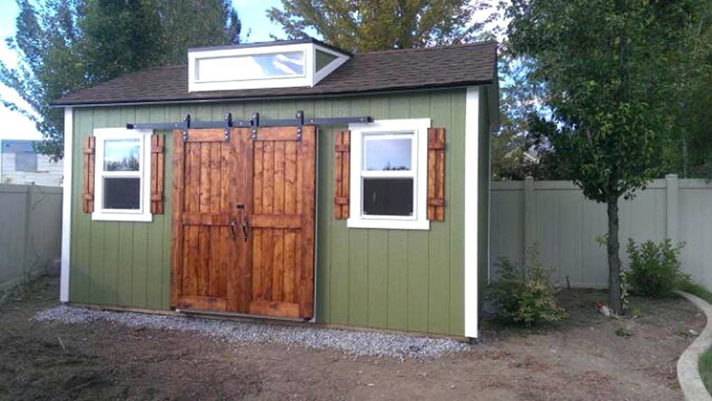 Image Result For Diy Shed Barn Door Shed Diy Shed Double Sliding Barn Doors
