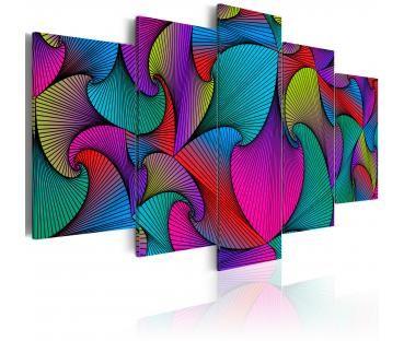Cuadro decorativo Carousel of Colours