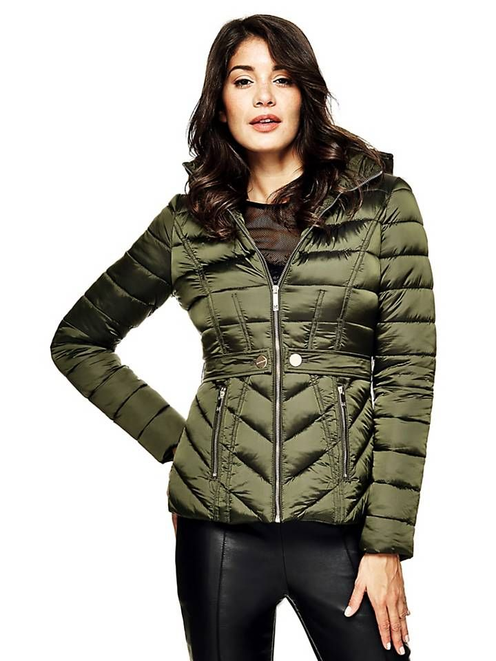 MARCIANO QUILTED JACKET on Guess.eu | Mont