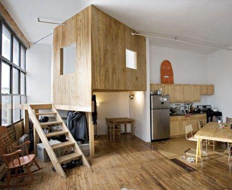 Hochbetten erwachsene design moderne kleine wohnung wohnung