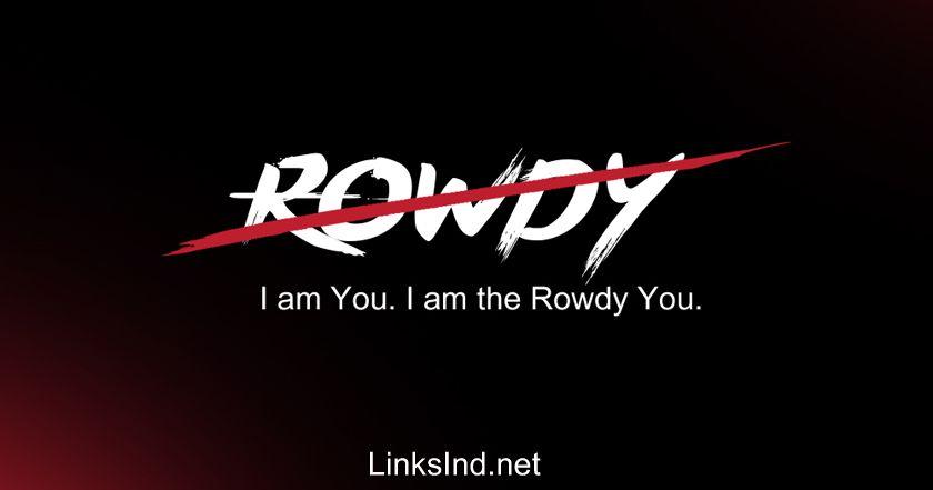 Rowdy Style Name DP Generator | Vijay Devarakonda❤ in 2019