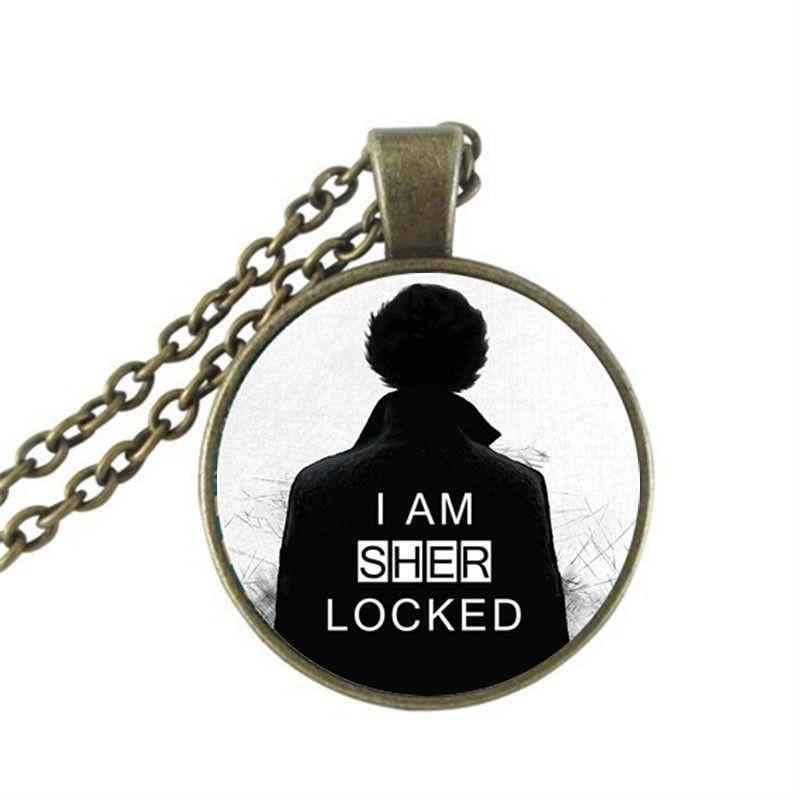 I am Sherlocked Necklace