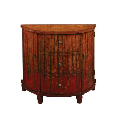 Autumn Sunset Three Drawer Two Door Chest Coast To Coast Imports Chests Chests & Dressers