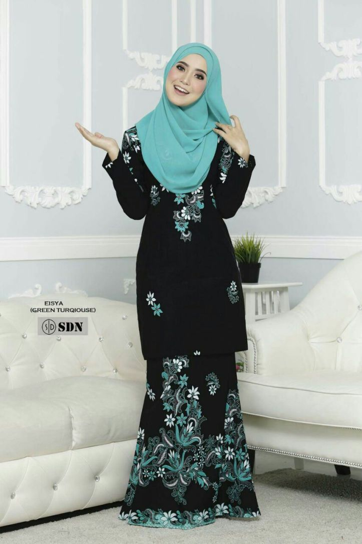 Pin On Muslimah Hijab Fashion Abaya Style Maxi Dress Long Dress Kebaya Baju Kurung