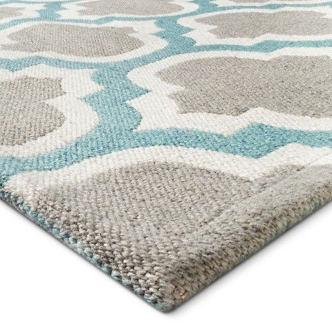 threshold™ indoor/outdoor fretwork rug | new home 2015 | pinterest