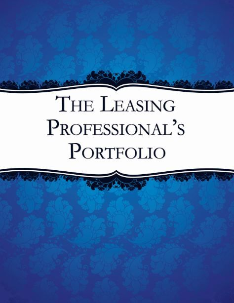 for Leasing Professionals to track and improve their productivity!
