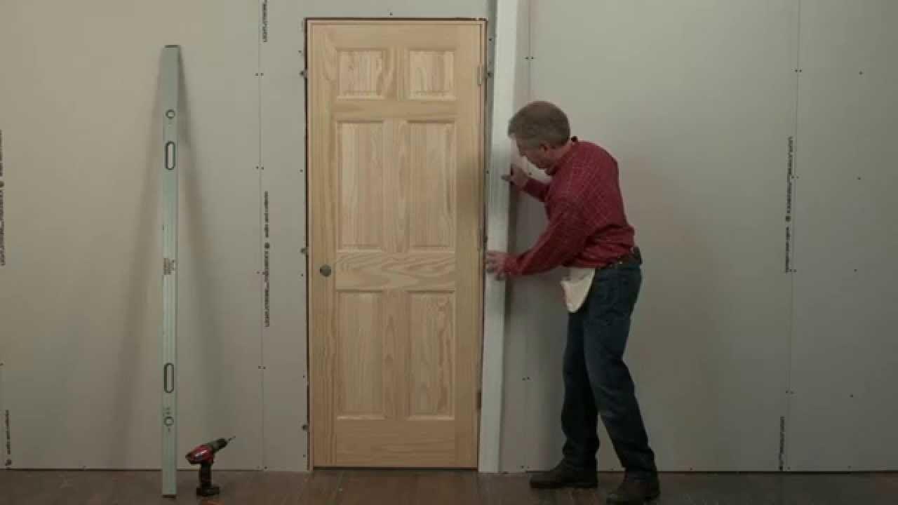 Beginners How To For Installing Interior Pre Hung Doors Dyi Ideas Pinterest Doors