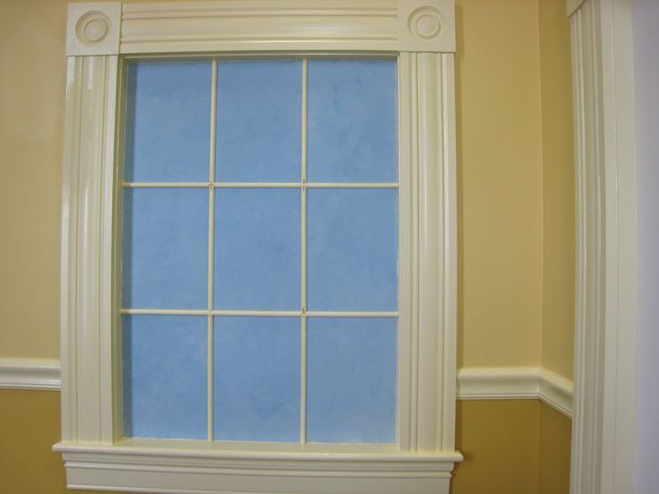 Fluted trim kitchen window google search window for Interior window molding designs