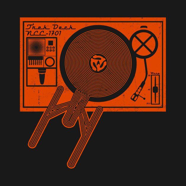 Awesome 'Trek-Deck' design on TeePublic! - Funny Cool Shirt (SciFi Tshirts)