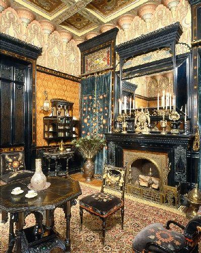 Exoticism Victorian Interiors Beautiful Interiors Victorian Decor